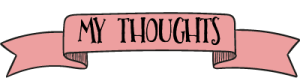 My Thoughts Ribbon