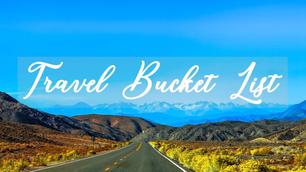 Top 5 Travel BucketList